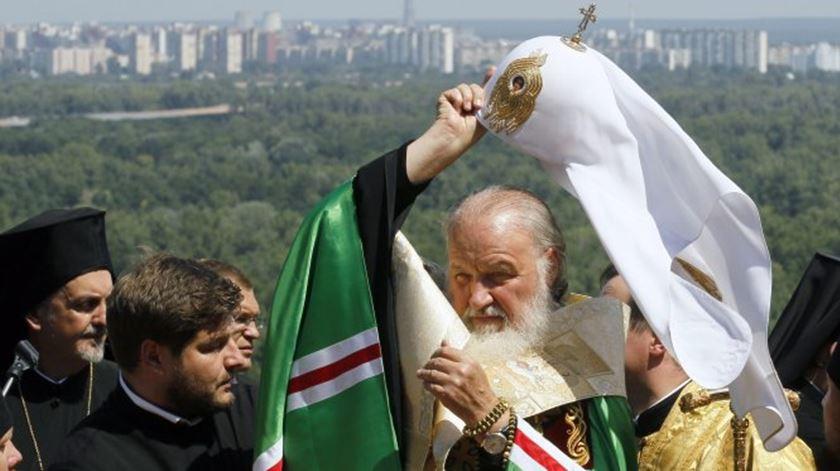 O patriarca Kirill tem-se oposto a uma visita do Papa à Rússia. Este encontro terá lugar em Cuba. Foto: DR