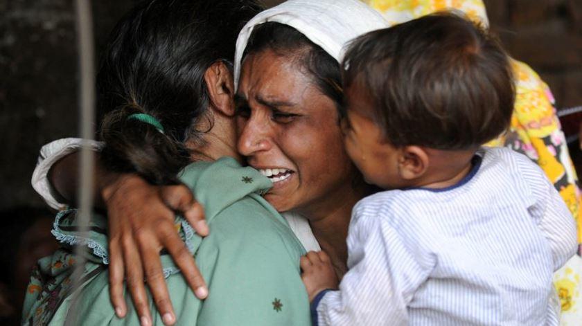 Cristãos perseguidos no Paquistão. Cada vez mais procuram fugir do país. Foto: DR