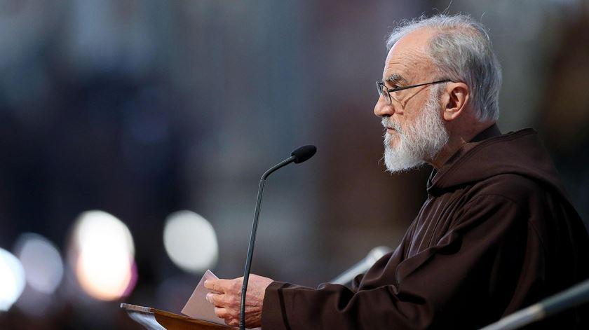 O pregador do Papa, cardeal Raniero Cantalamessa. Foto: DR