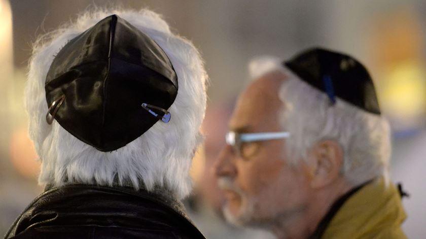 Muitos judeus estão a votar na extrema-direita, diz rabino. Foto: Peter Steffen/EPA