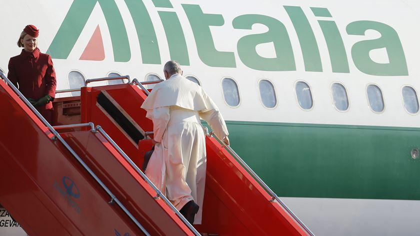 Papa Francisco vai visitar a Colômbia em Setembro. Foto: Zurab Kurtsikidze/EPA