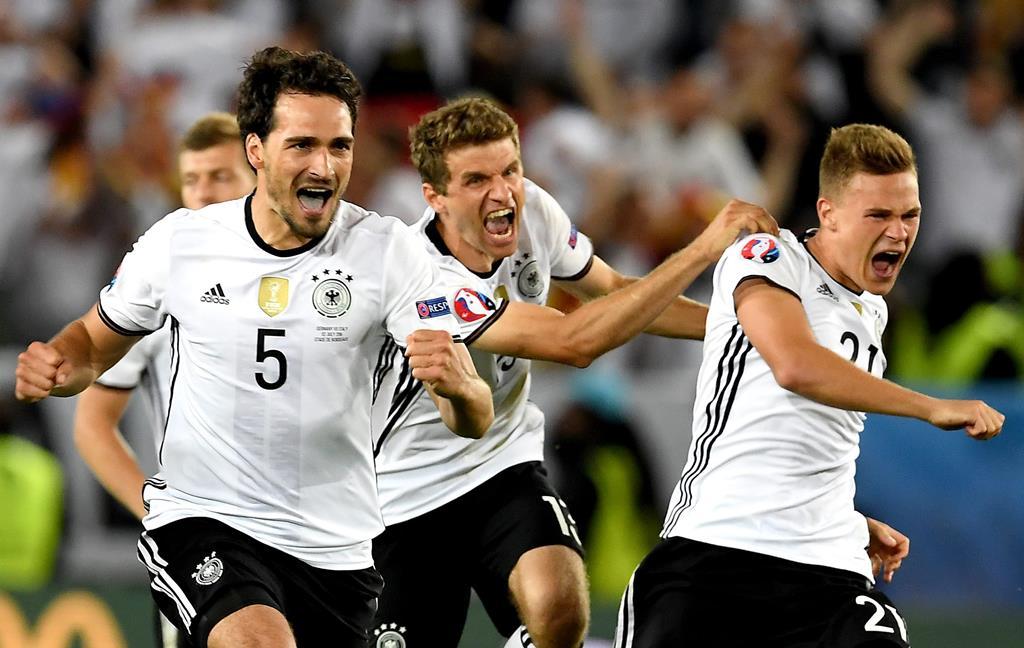 Hummels e Müller estão de volta à seleção alemã Foto: EPA