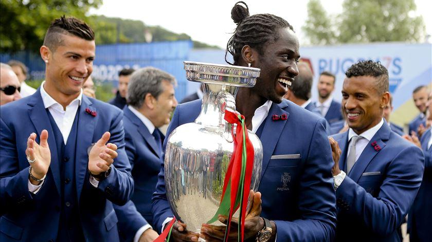 Éder teve papel central na conquista do campeonato da Europa. Foto: Miguel A. Lopes/Lusa