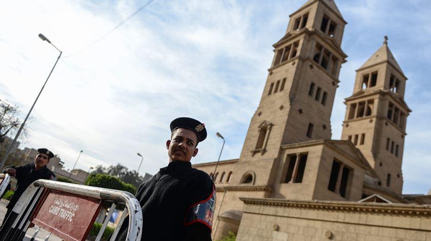 Catedral copta de São Pedro no Cairo. Foto: Mohamed Hossam/EPA