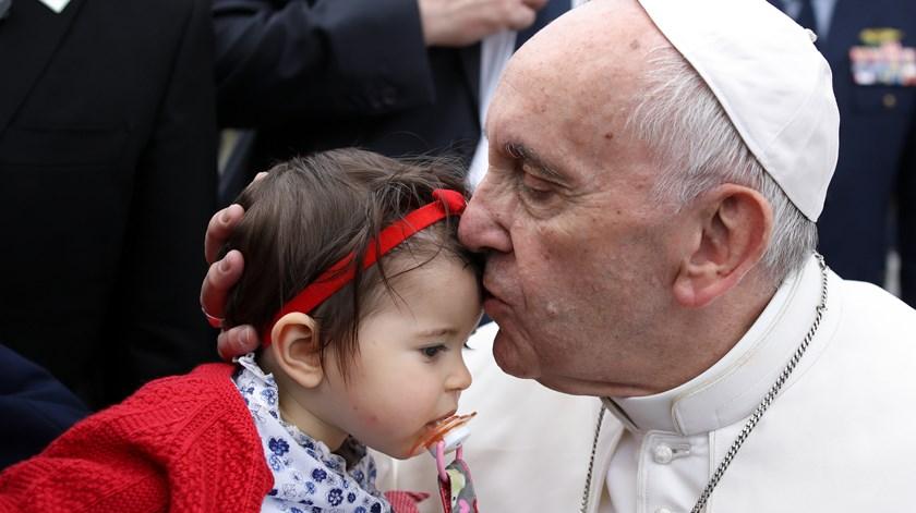 O Papa quer extirpar os abusos da Igreja. Foto: Mário Cruz/Lusa