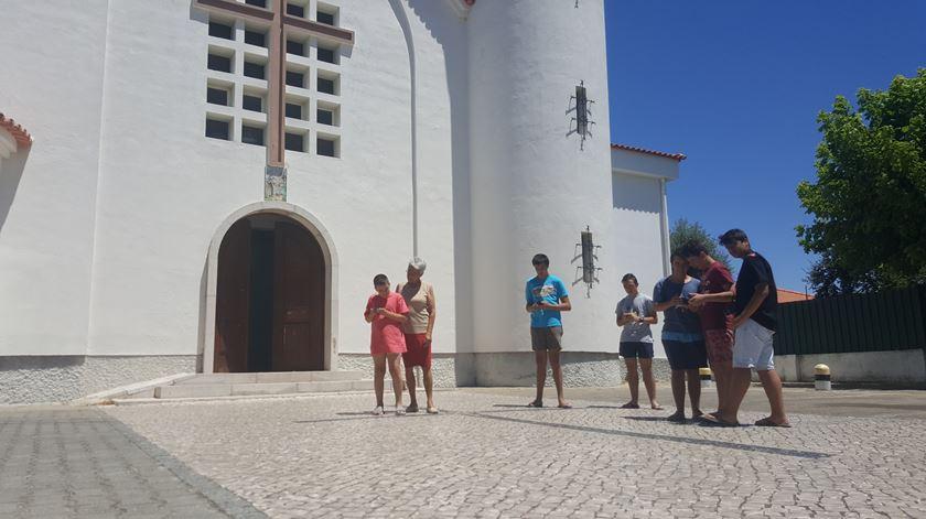 A Igreja de Palhais no Barreiro. Foto: DR