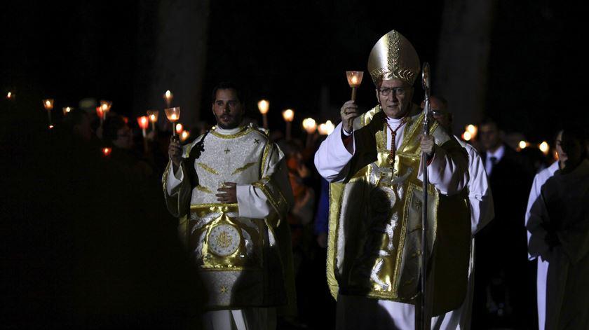 Secretário de Estado do Vaticano, Pietro Parolin, em Fátima. Foto: Paulo Cunha/Lusa
