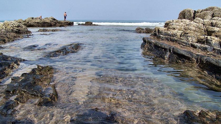 Praia da Amoreira, em Aljezur. Foto: Filipe Rocha