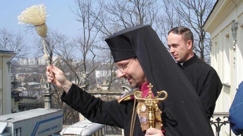 O arcebispo-maior Sviatoslav Shevchuk logo após a sua eleição para chefiar a Igreja Greco-Católica da Ucrânia, em 2011. Foto: DR