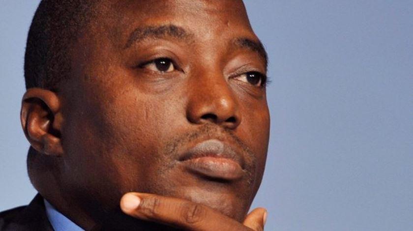 Joseph Kabila, alvo dos protestos da Igreja. Foto: DR