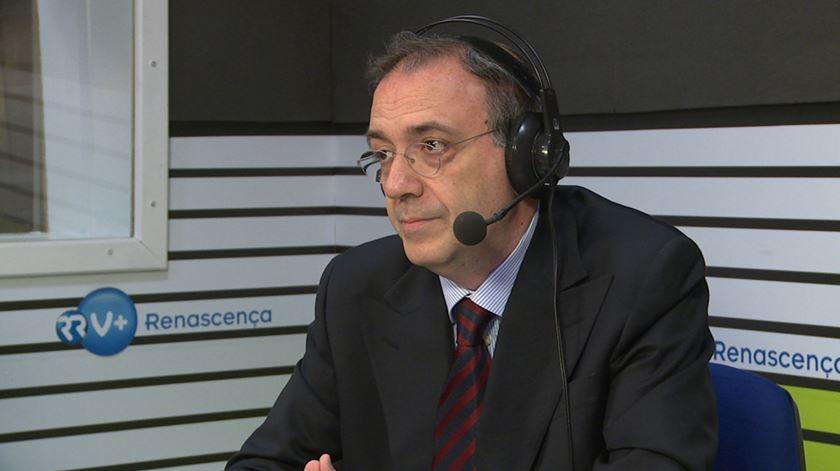 Paulo Otero (numa anterior entrevista à Renascença). Foto: RR