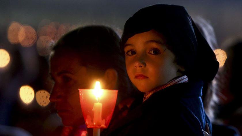 Fiéis convidados a participar em vigília pela paz. Foto: Paulo Novais/Lusa