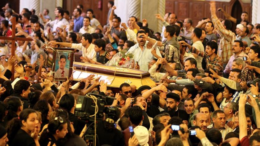 Os coptas têm sido alvo de vários atentados ao longo dos anos. Foto: DR