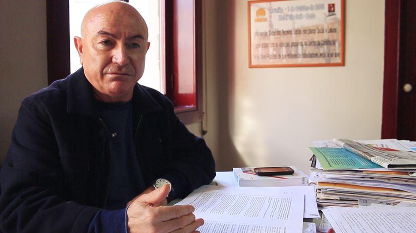 """Albano Ribeiro diz que, """"como sindicalista"""", nunca passou por """"uma situação tão grave como esta"""""""