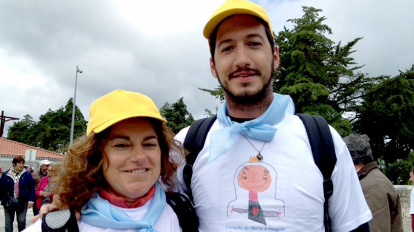 """Anabela Rodrigues em Fátima, """"muito leve e com muita paz"""""""