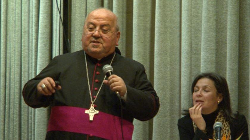 O arcebispo Samir Nassar. Foto: DR