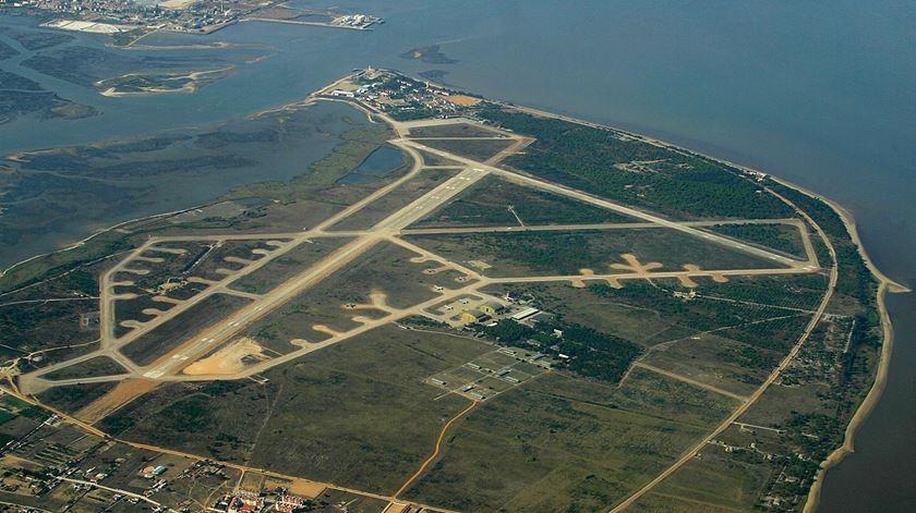 Base aerea do Montijo. Foto: Luis Rosa