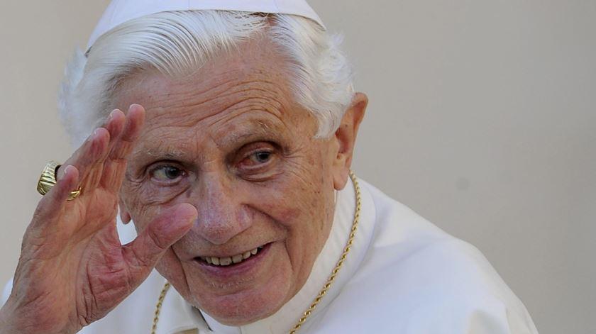 Bento XVI, Papa emérito, renunciou ao pontificado em 2013. Foto: EPA