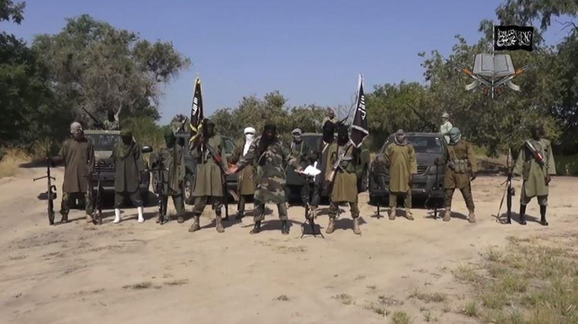 Soldados do grupo terrorista Boko Haram. Foto: YouTube