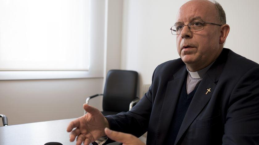 Padre Manuel Barbosa, porta-voz da CEP. Foto: Paulo Cunha/Lusa