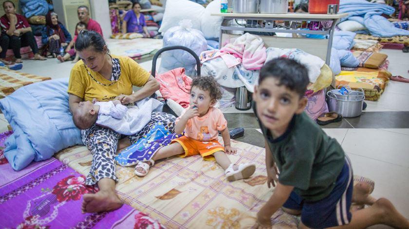 Refugiados começam a voltar às suas casas na região de Nínive. Foto: Michael Kapeeler/EPA