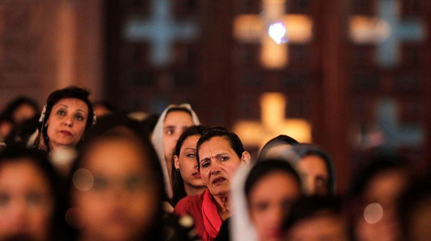 Coptas continuam a sofrer perseguição no Egito. Foto de arquivo: Mohamed Hossam/EPA