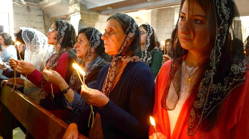 Cristãos na Síria vão beneficiar de mais ajuda da fundação Ajuda à Igreja que Sofre. Foto: Omar Alhayali/EPA