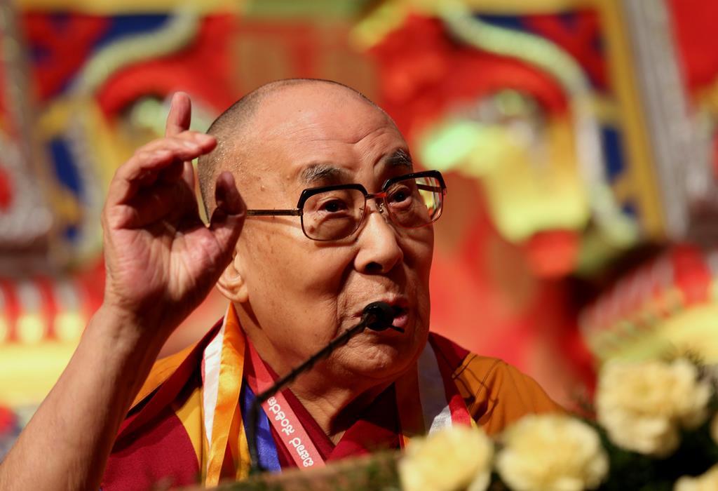 Dalai Lama. Foto: Jagadeesh Nv/EPA