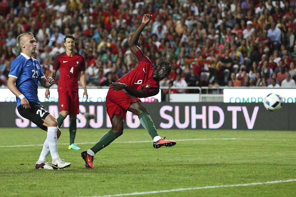 Éder marcou o golo da vitória no Euro 2016. Foto: José Sena Goulão/Lusa