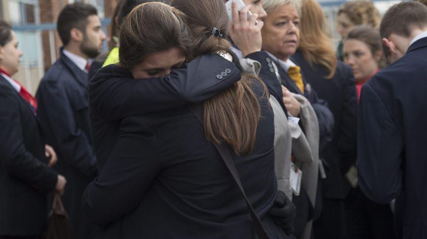 Atentados fizeram 34 mortos em Bruxelas esta terça-feira. Foto: Olivier Oslet/EPA