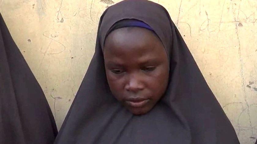 Uma das estudantes raptadas em 2014 pelo Boko Haram. Foto: DR