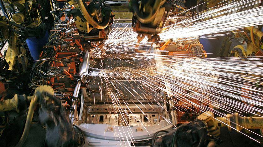 O sector do metal é o que mais exporta para o Reino Unido. Depois de um grande crescimento estagnou.