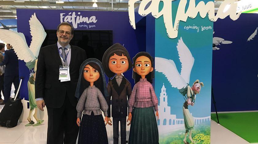 """Amadeu Castanho, director de """"Viagens de Fé"""". Foto: Ana Carrilho/RR"""