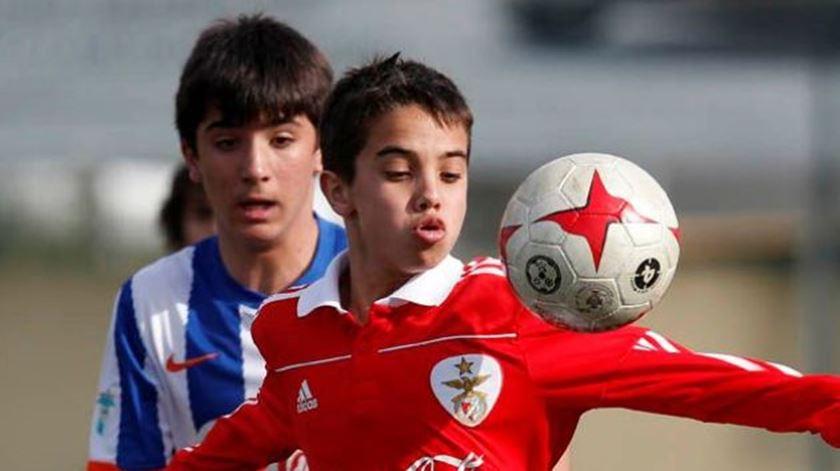 Futebol jovem está parado desde março. Foto: DR