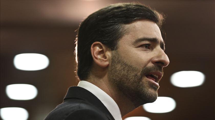 Pedro Madeira Rodrigues apresentou candidatura à presidência do Sporting. Foto: Manuel de Almeida/Lusa