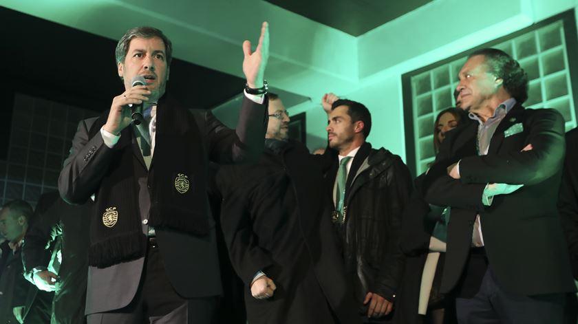 O presidente do Sporting quer alterações no futebol português. Foto: Manuel de Almeida/ Lusa