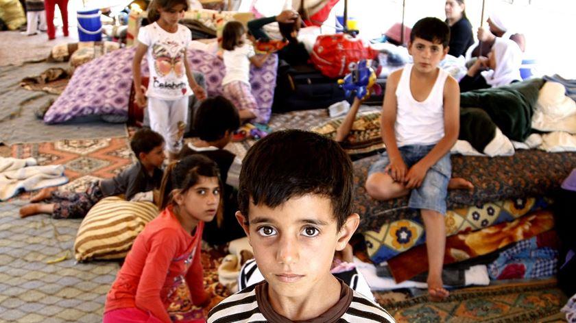 Refugiados yazidis conseguem notas de excelência, apesar das dificuldades em estudar. Foto: DR