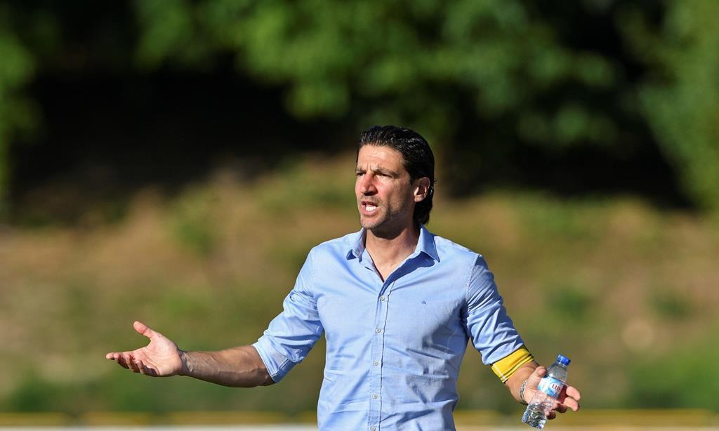Jorge Simão volta ao Paços de Ferreira, clube que orientou na temporada 2015/16 Foto: Octávio Passos/Lusa