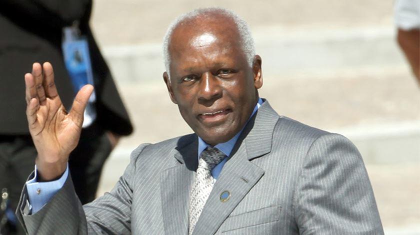José Eduardo dos Santos, Angola. Foto: DR (arquivo)
