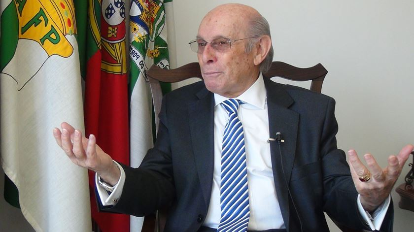 Lourenço Pinto é presidente da AF Porto. Foto: RR