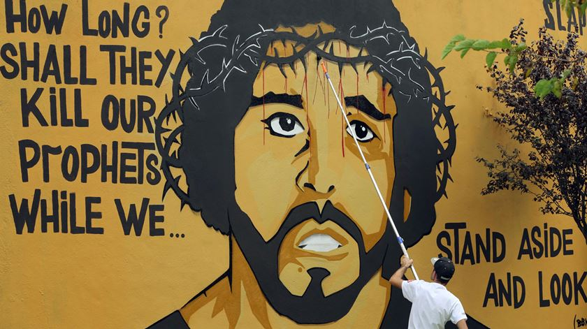 Luaty Beirão é o rosto mais conhecido do grupo agora em liberdade. Foto: Lusa