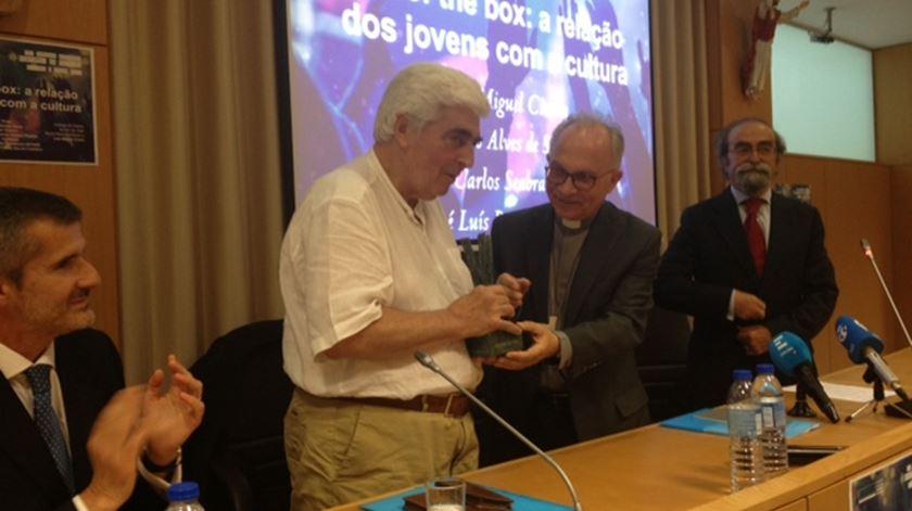 Encenador recebe prémio na Jornada da Pastoral da Cultura