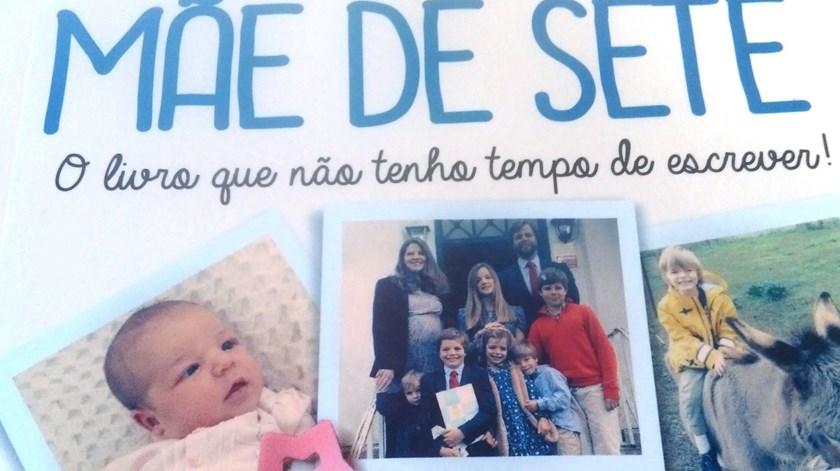 Mãe de Sete, livro de Mariana Avillez. Foto: DR