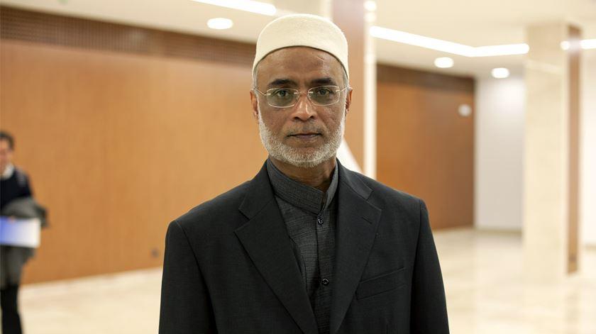 """""""Foi um encontro histórico. Há pessoas que respeitam as outras confissões"""", afirma o sheikh David Munir"""