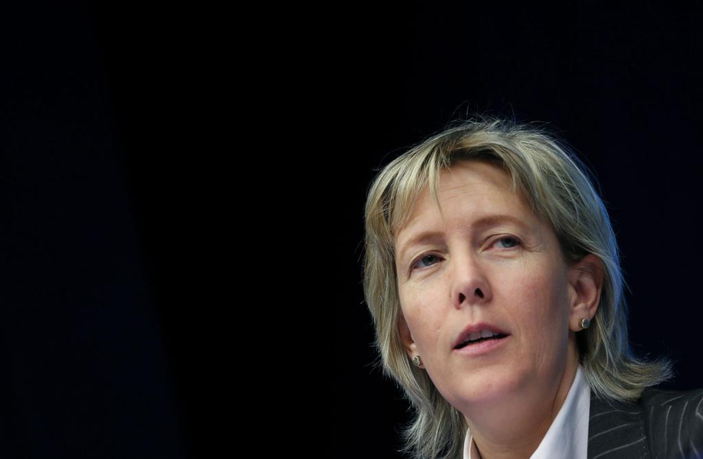 Maria Luís Albuquerque, antiga ministra das Finanças. Foto: Olivier Hoslet/EPA