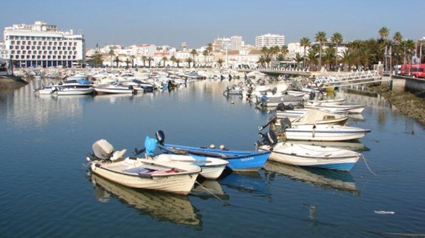 A cidade de Faro, no Algarve. Foto: DR