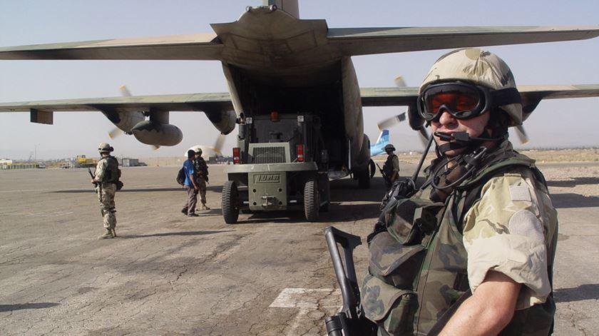 Missão Portuguesa no Afeganistão Foto: Força Aérea, Novembro 2014