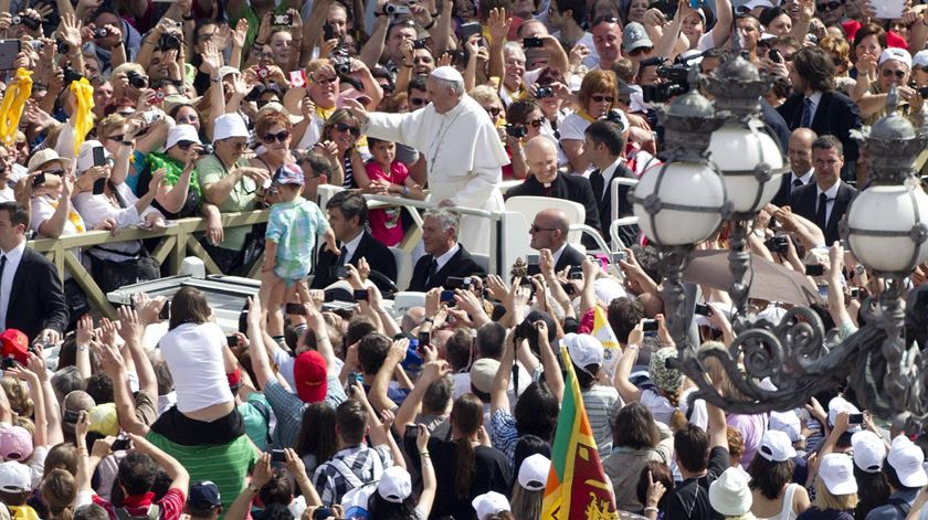 Espera-se mais um banho de multidão para ver o Papa no Chile. Muitos serão argentinos. Foto: DR
