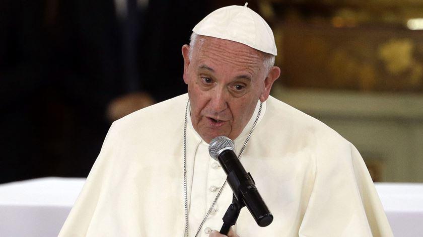 Papa defende mais oportunidades para os jovens. Foto: Gregorio Borgia/EPA
