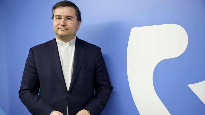 Pe. Américo Aguiar, presidente do conselho de gerência do Grupo Renascença. Foto: RR
